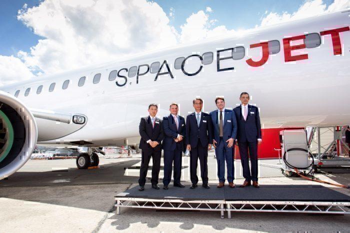 The SpaceJet at Paris