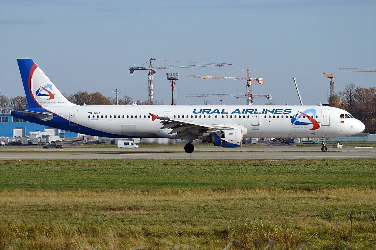 Ural Airlines VQ-BOZ, Airbus_A321-211