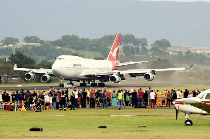 747-400 'City of Canberra'