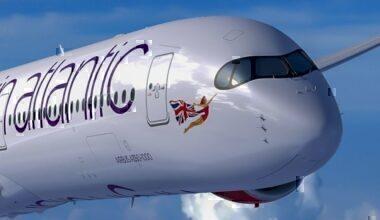 Virgin A350 mask