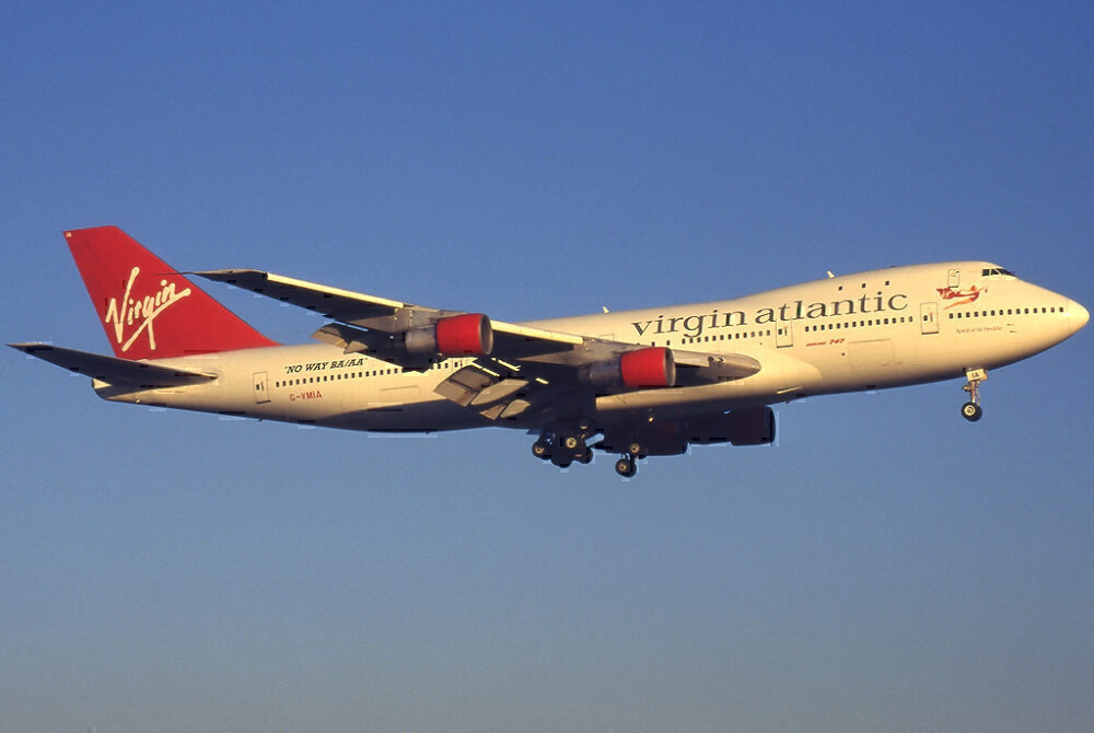 Virgin Atlantic 747-100