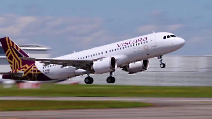 Vistara take off