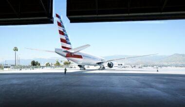 American Airlines hangar concept