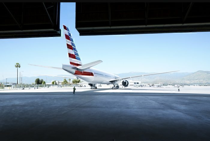 American Airlines hangar concept