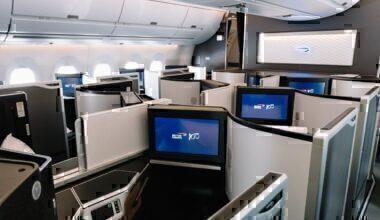 British Airways, Boeing 787-10, First Class