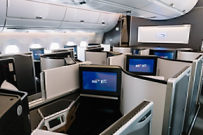 British Airways, Boeing 787-10, First Class