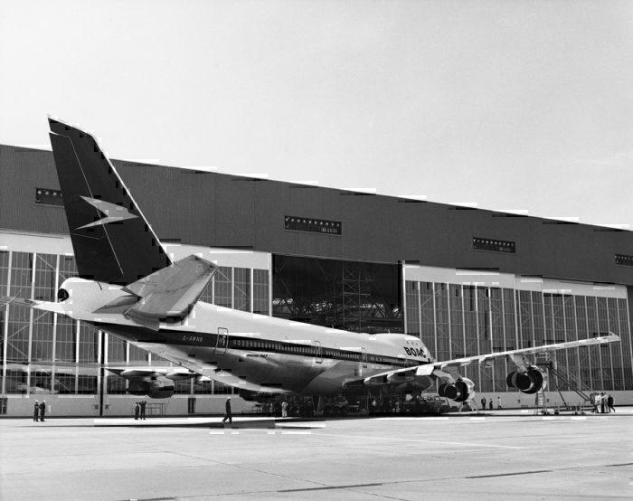 A BOAC Boeing 747