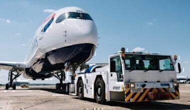 BA First Airbus A350 Flight