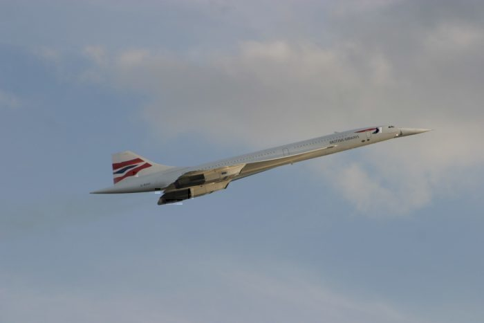 A British Airways Concorde