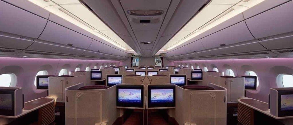 Thai Airways Business Class seats Airbus A350