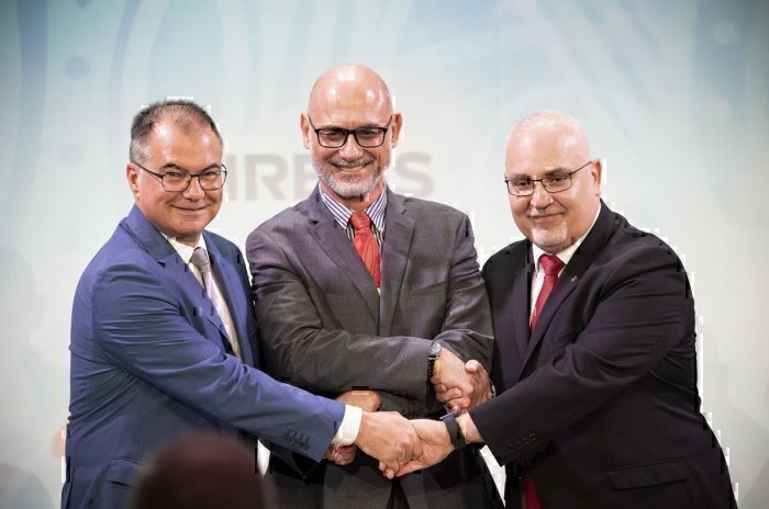 Aircalin Airbus handover group