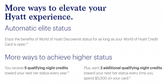 World of Hyatt status