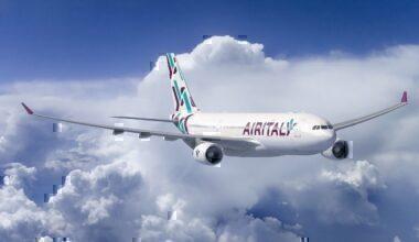 Air Italy A330 in flight