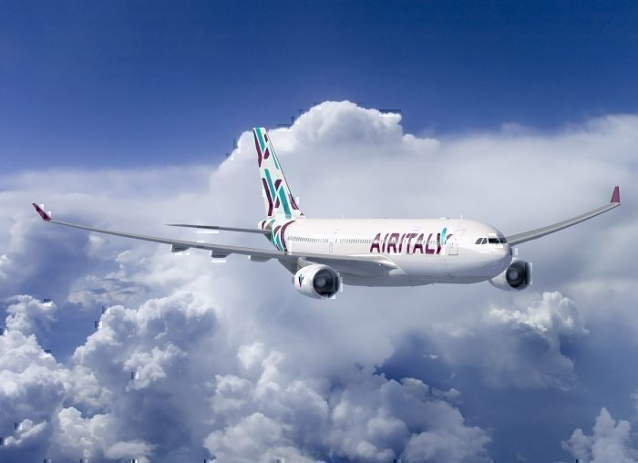 Air Italy A330 in flight