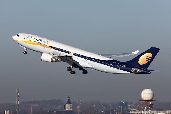 Jet Airways airline take-off