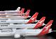 Historic Qantas liveries