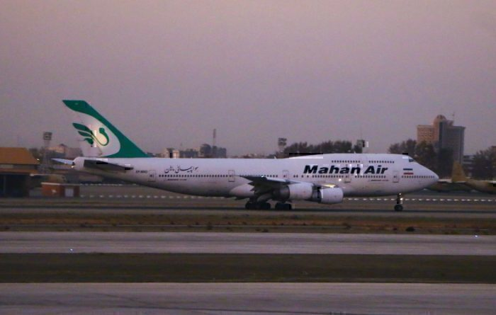 Mahan Airlines Boeing 747