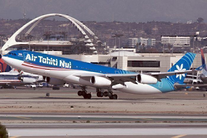 Air Tahiti Nui A340 take-off