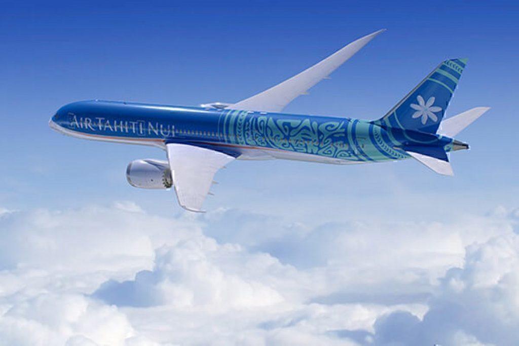 Air Tahiti Nui concept B787 in flight