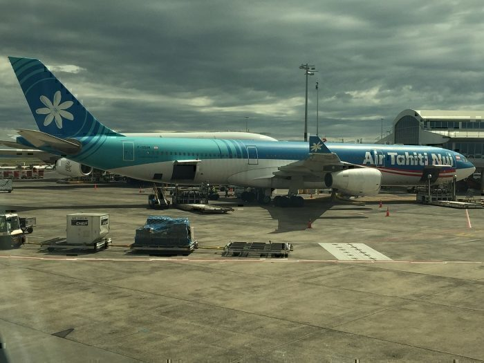Air Tahiti Nui A340 at gate