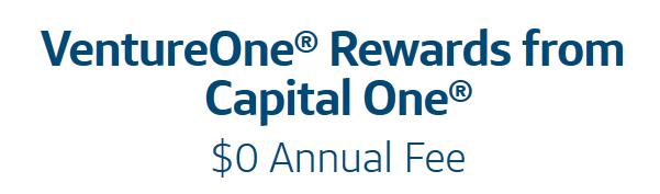 VentureOne no annual fee