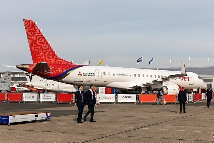 Mesa Airlines Places 100 Mitsubishi SpaceJet Orders