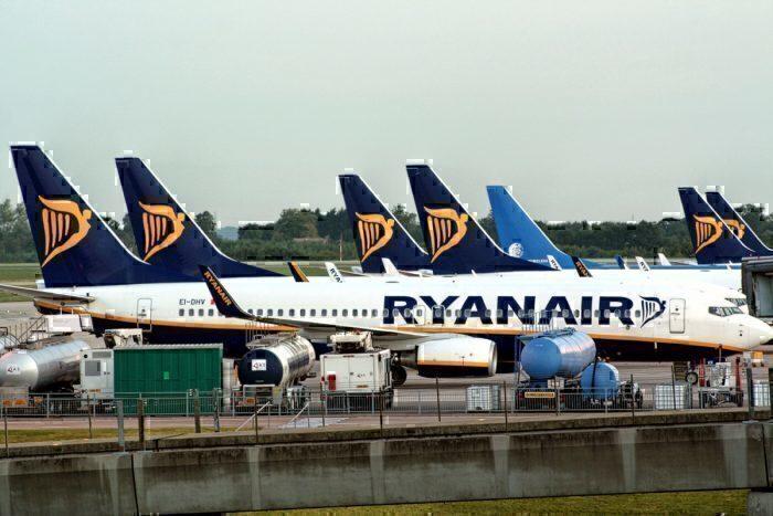 Ryanair jets