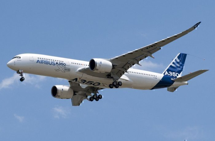 An Airbus A350