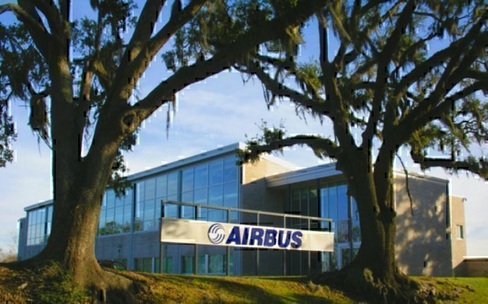 The Airbus facility in Mobile, Alabama