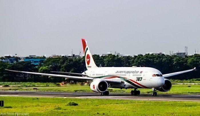 Biman Bangladesh Airlines 787