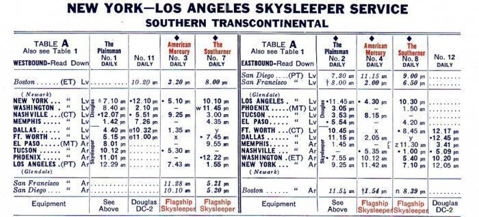 American Airlines Flagship Skysleeper service