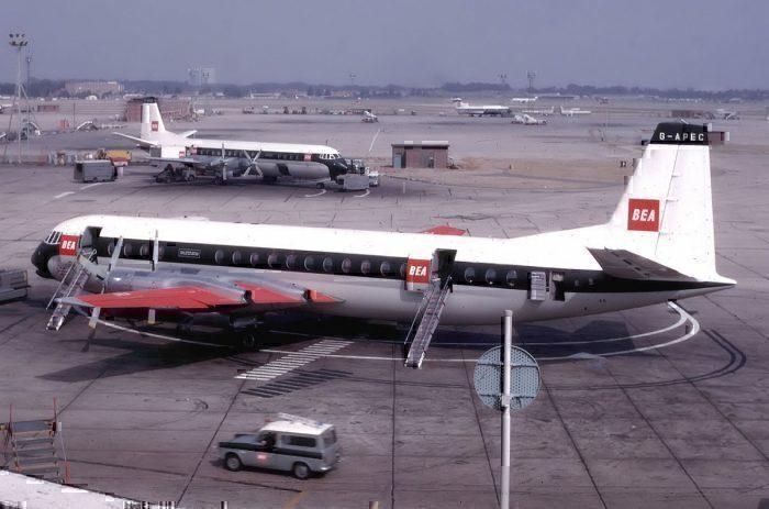 BEA Vickers Vanguard (G-APEC)