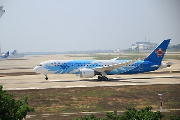 A China Southern Boeing 787