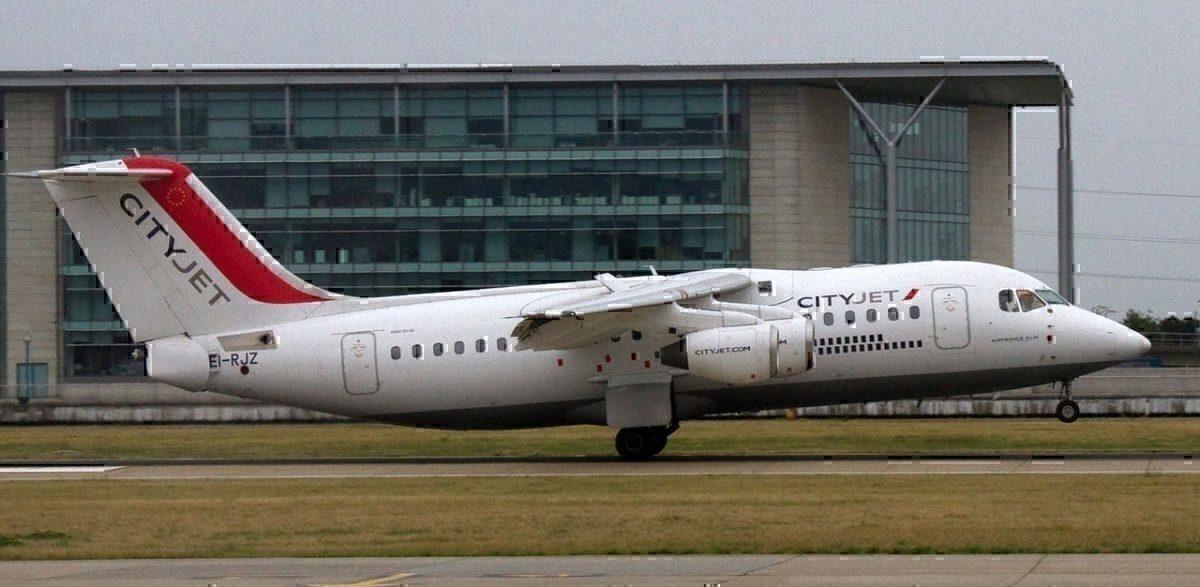Cityjet at London City Airport
