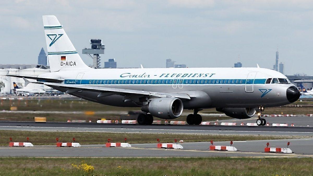 Condor (Retro livery) Airbus A320-212