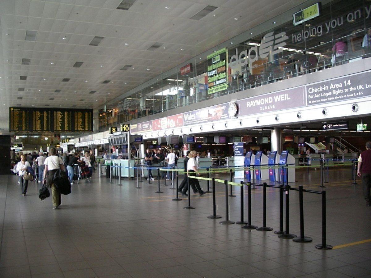 Dublin Airport Terminal 1 Departures Level