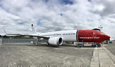 Norwegian Air Shuttle B737