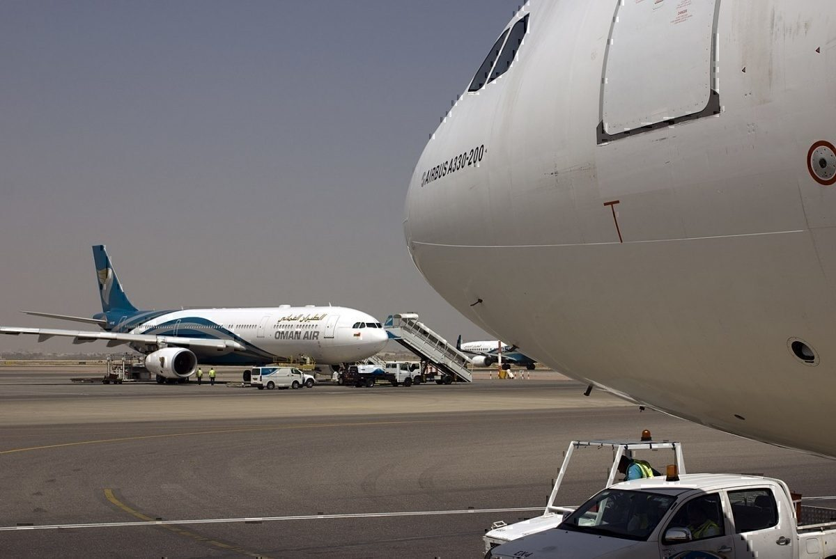 Oman Air at MCT