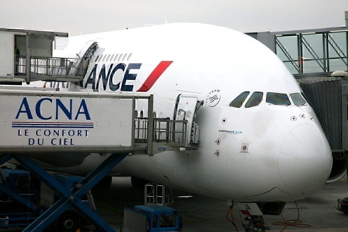 AF A380 CDG T2E
