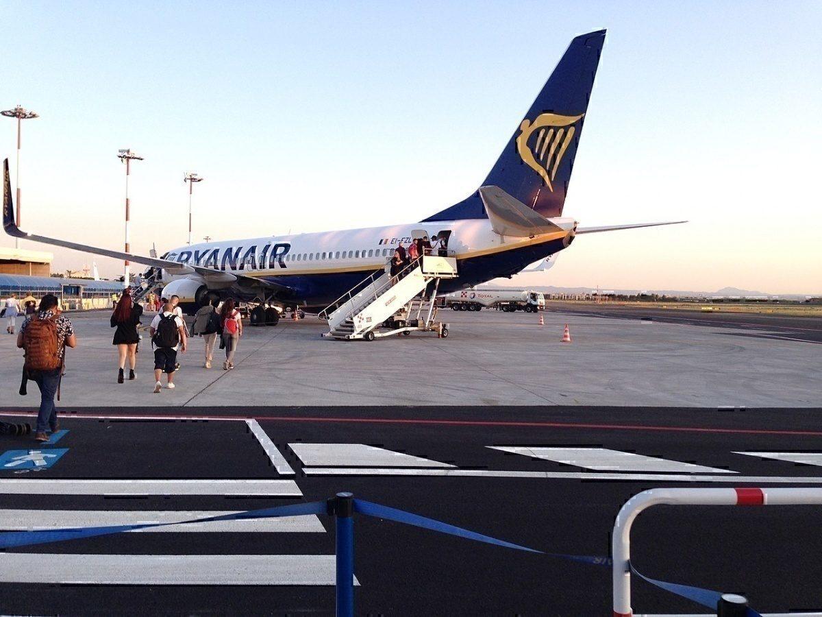 Ryanair in Rome