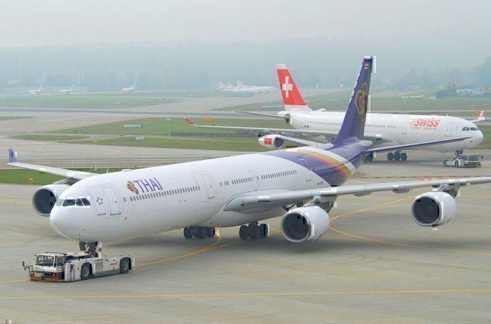 Thai Airways A340-600