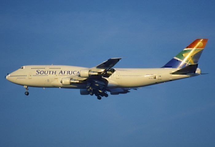 South African Airways 747-400.