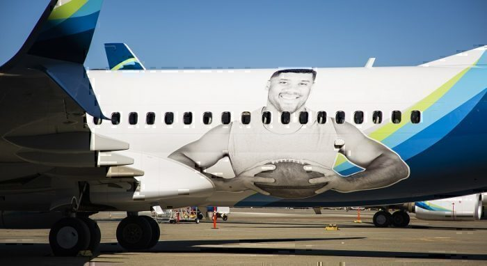 new style 20d2b d3a7b Some Seattle Seahawks Fans Are Being Given Priority Boarding ...