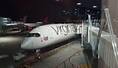 Virgin A350 Upper Class Review