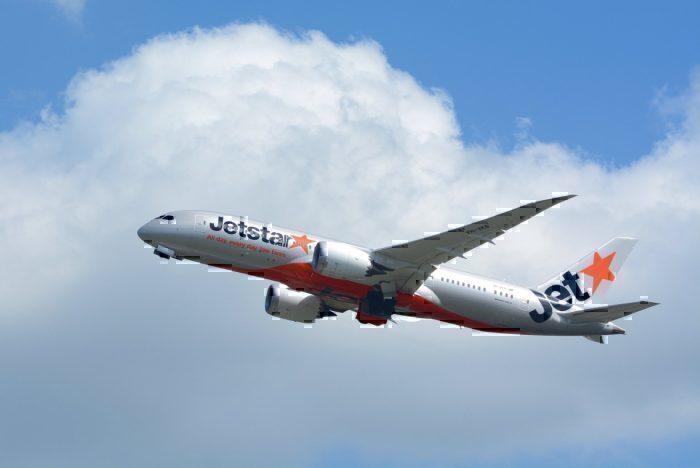 A Jetstar Boeing 787 Dreamliner