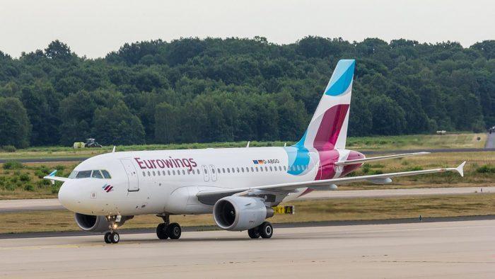 Eurowings Airbus A319