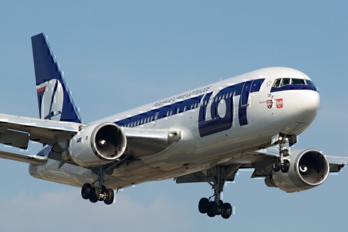 A LOT Polish Airlines Boeing 767-200ER