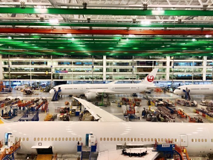 Boeing Evacuates Charleston Plant Ahead Of Hurricane Dorian