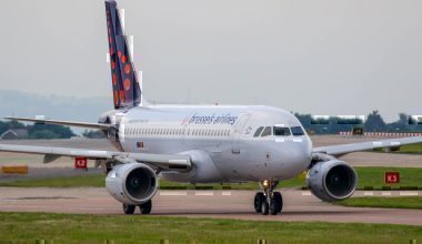 A Brussels Airlines Airbus A320