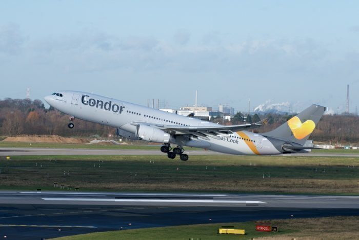 Condor Airlines, Coffee Spilt, Airbus A330